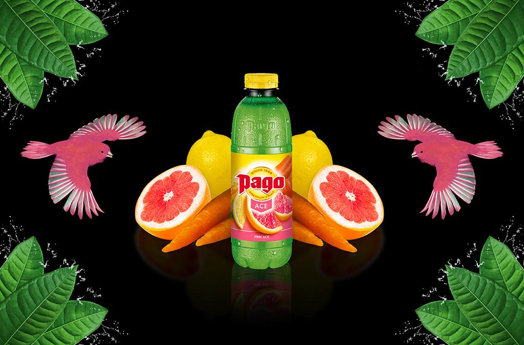 PINK ACE ~ PAMPLEMOUSSE ROSE CAROTTE CITRON