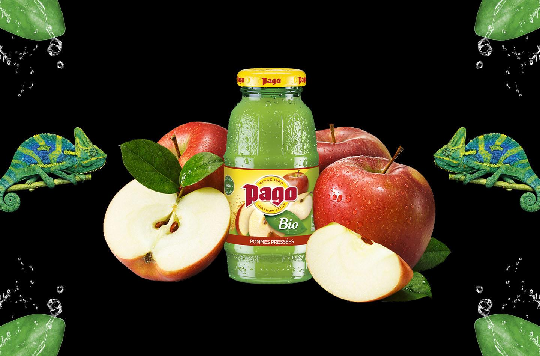 Pommes pressées Bio